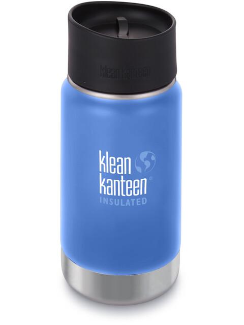 Klean Kanteen Wide Vacuum Insulated Bottle Café Cap 2.0 355ml Pacific Sky